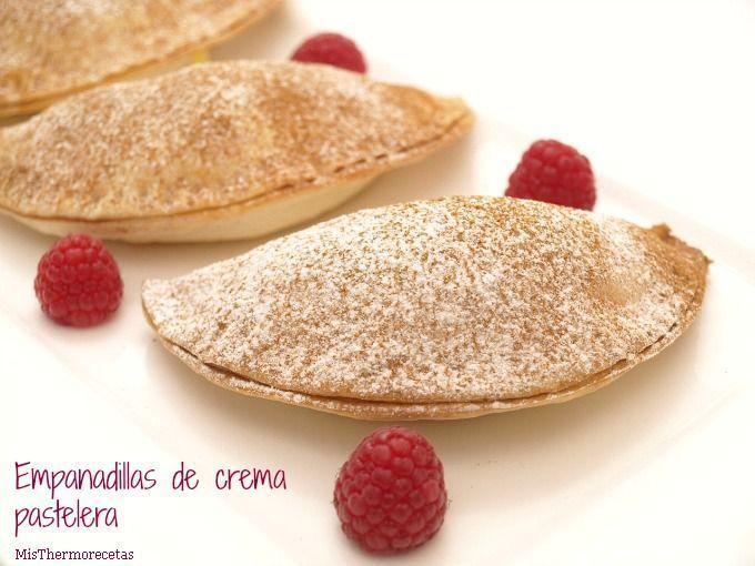 Empanadillas de crema pastelera