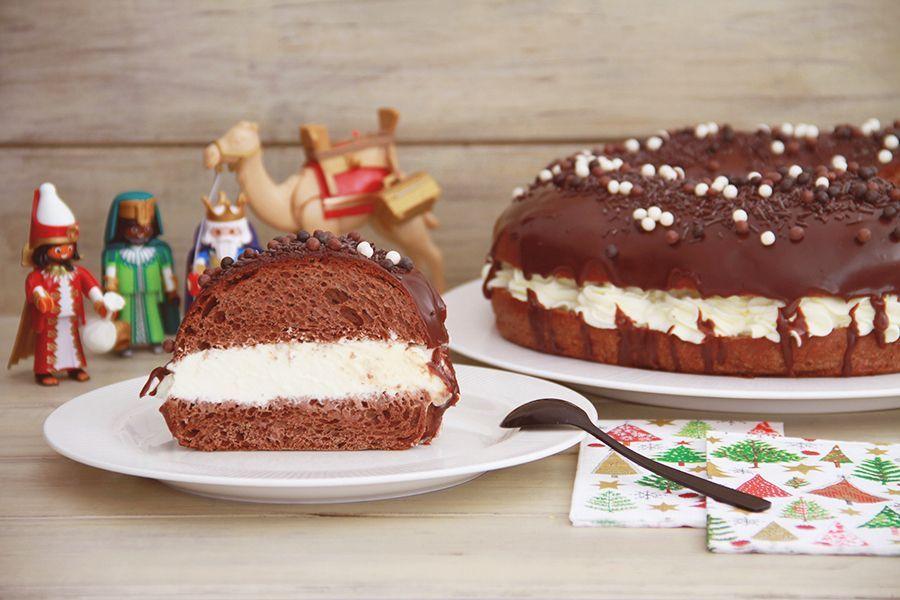 Roscón de Reyes de chocolate (Choco King)