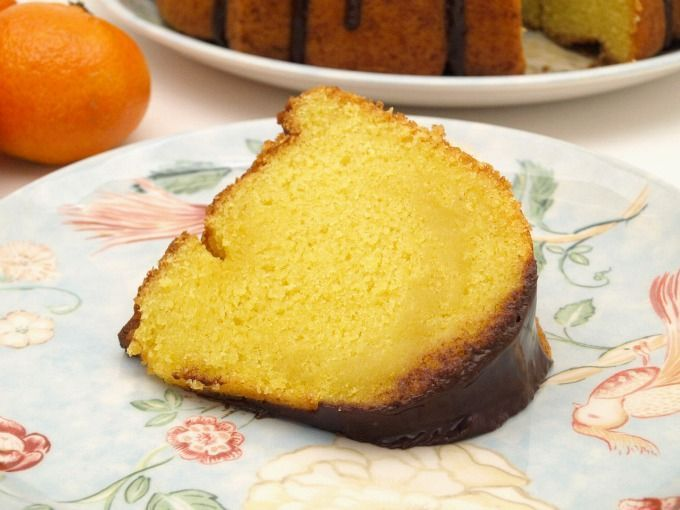Bundt Cake de mandarina