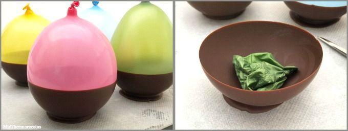 Cuencos de chocolate - MisThermorecetas