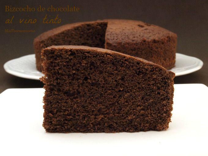 Bizcocho de chocolate al vino tinto - Recetas Thermomix ...
