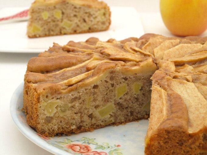 Tarta de manzana sueca - MisThermorecetas