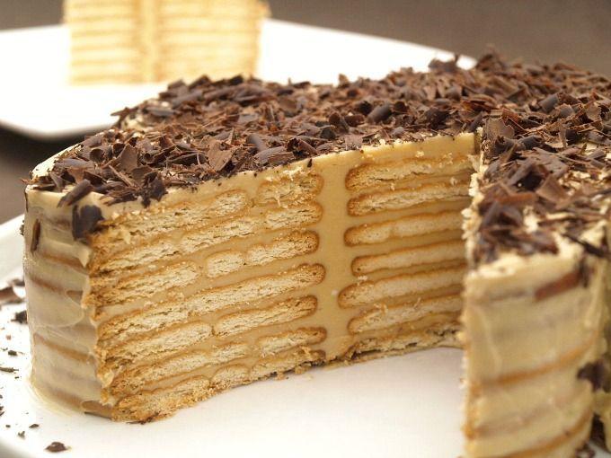 Bolo de bolachas (Pastel de galletas portugués) - MisThermorecetas