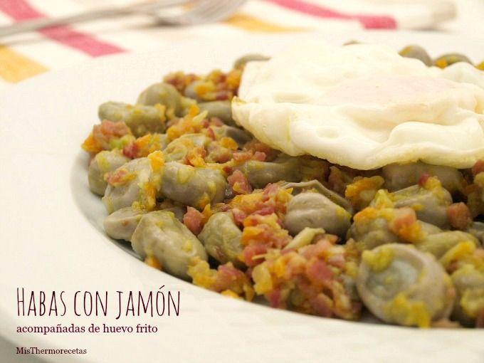 Habas con jam n recetas thermomix misthermorecetas - Habas frescas con jamon ...