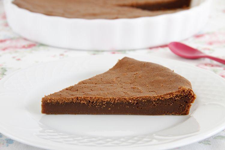Tarta de chocolate a la vainilla