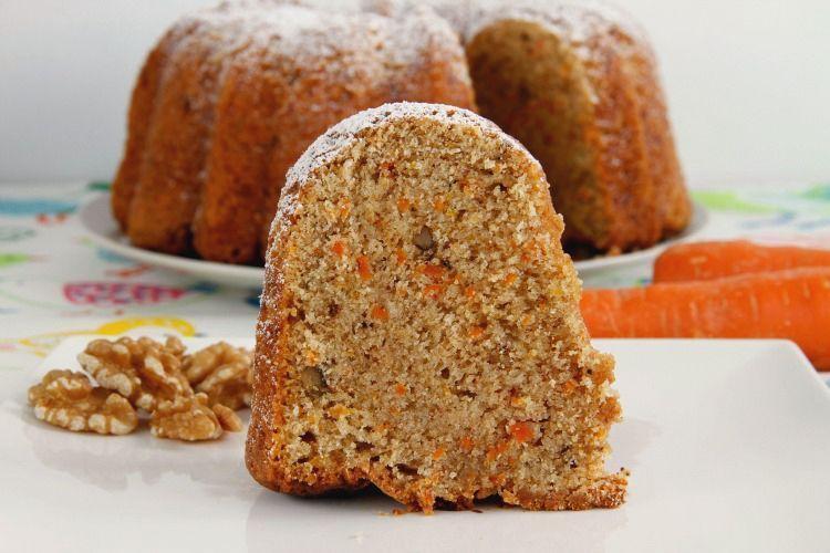 Bundt Cake de zanahoria y nueces