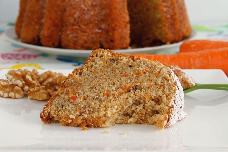 Bundt Cake de zanahoria y nueces - MisThermorecetas