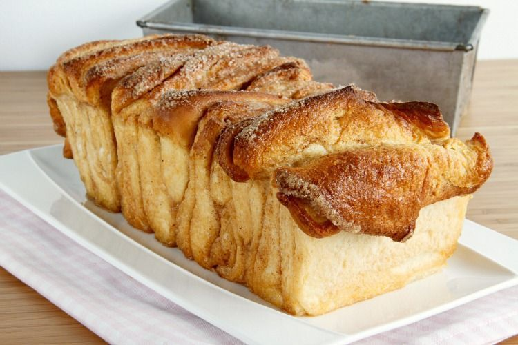 "Pan dulce de canela ""a tiras"" (Cinnamon sugar pull-apart bread)"