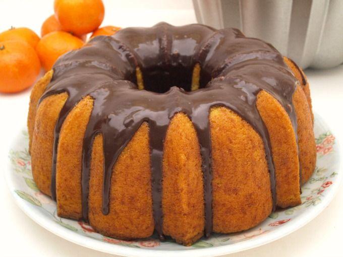 Bundt Cake de mandarina - MisThermorecetas