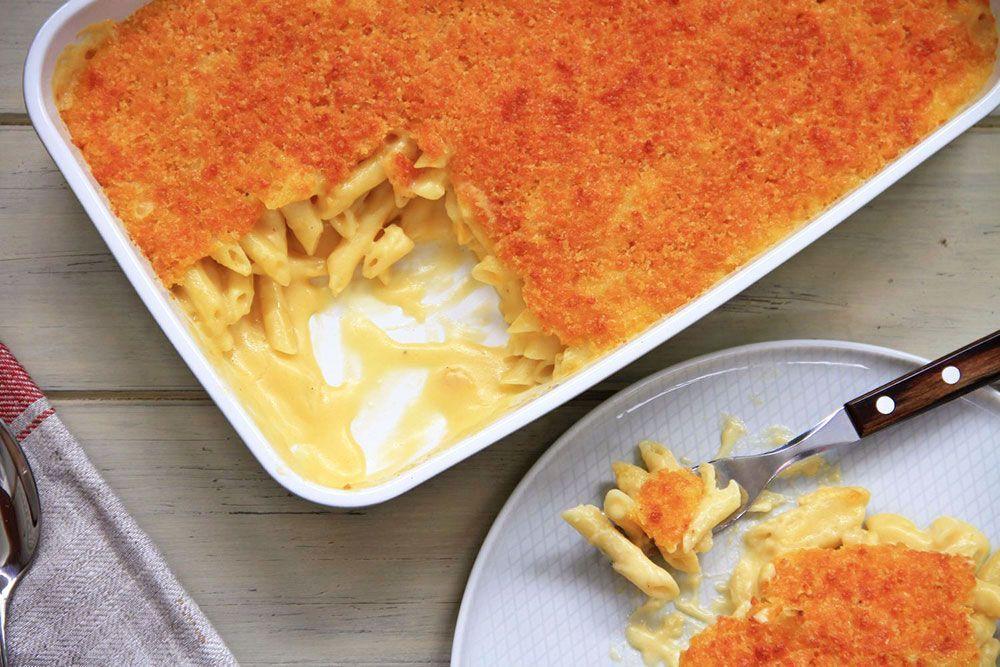 Macarrones al estilo americano (Mac and Cheese)