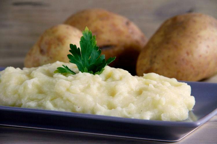 Puré de patata con Thermomix