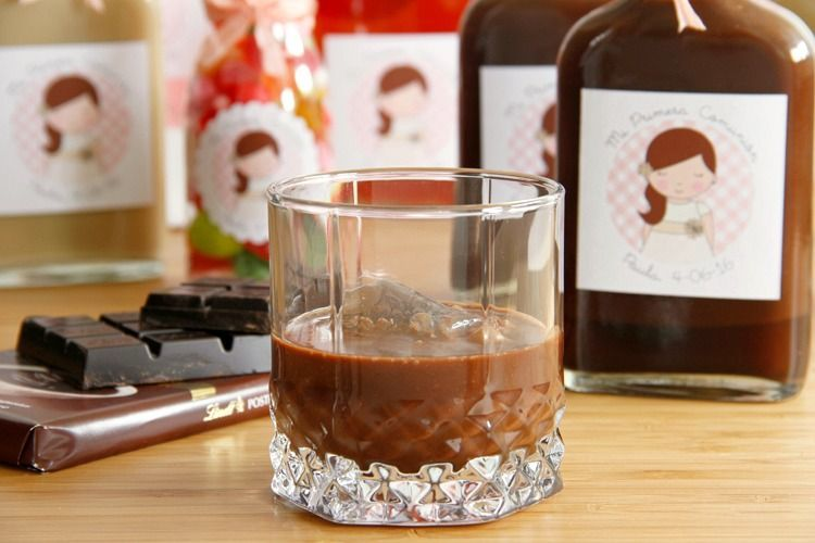 Licor al chocolate