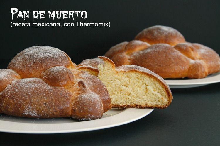 Pan de muerto (receta mexicana)