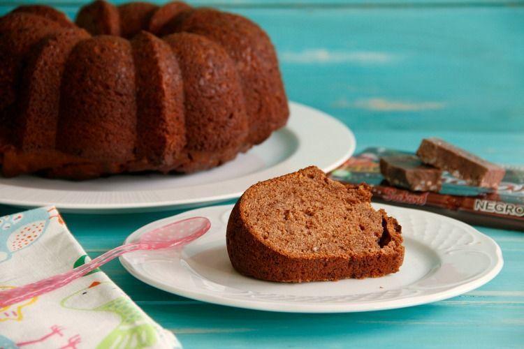 Bundt Cake de turrón de chocolate Suchard