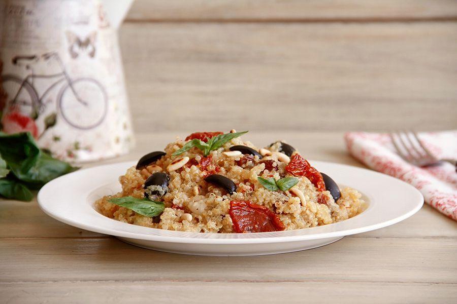 Risotto de quinoa a la provenzal