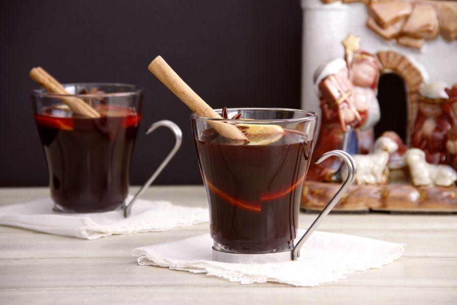 Glühwein (vino caliente especiado para Navidad)