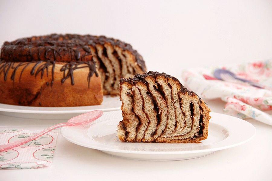 Nutella Roll Cake o Pastel Rollo de Nutella
