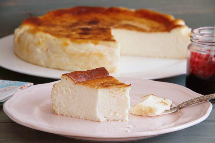 """Tarta de queso de """"La Viña"""" (San Sebastián)"""