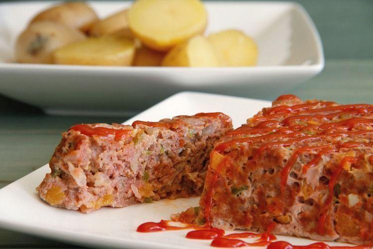 Pastel de carne y verdura para dos con Thermomix