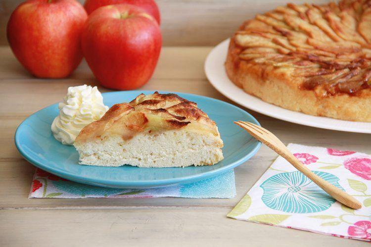Focaccia dulce de manzanas, con Thermomix