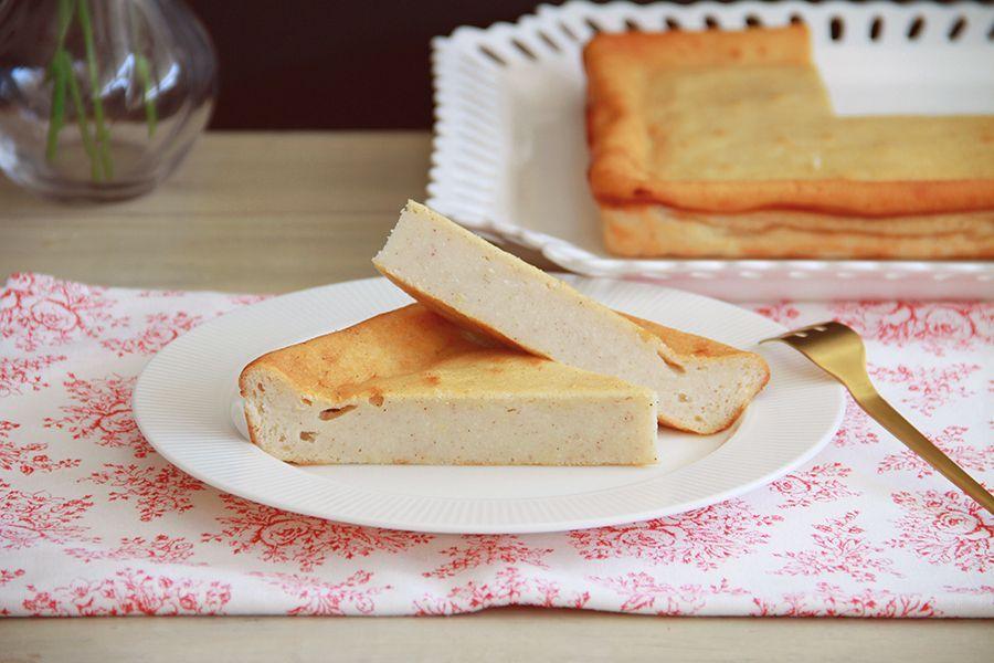 Quesada pasiega con queso fresco, con Thermomix