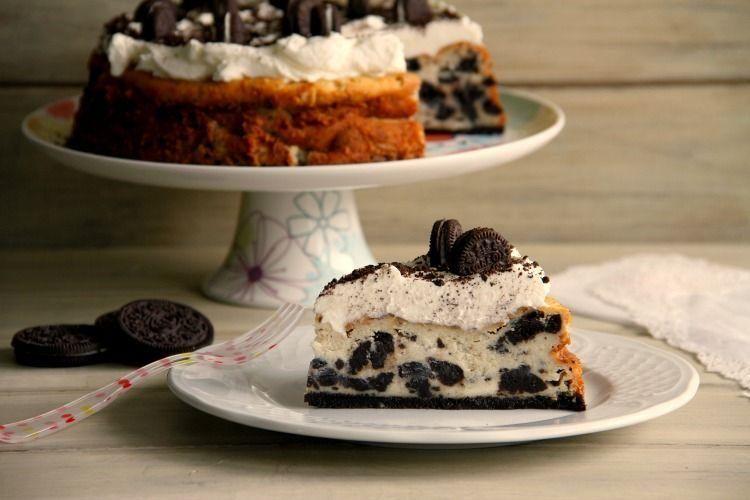 Cheesecake de Oreo, con Thermomix